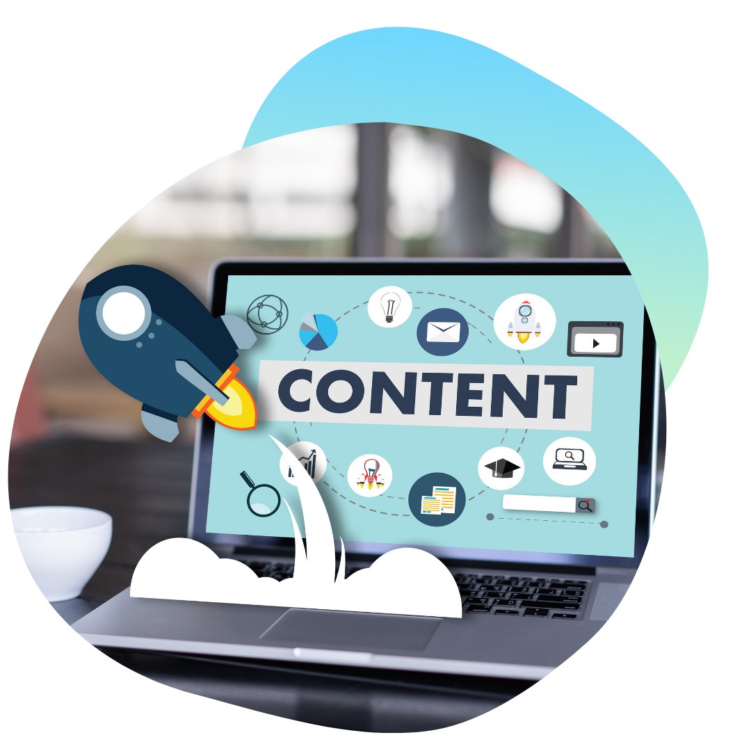 Content can help rocket your website traffic